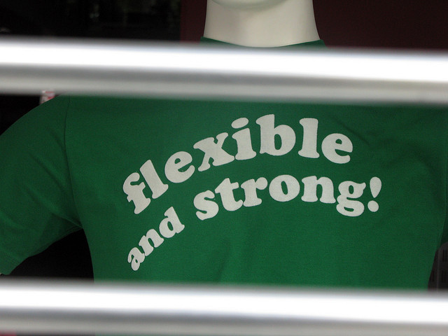 Flexible and Strong!